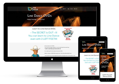 Line Dance Website Project