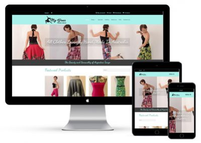 My Dear Tango Wear Website Project