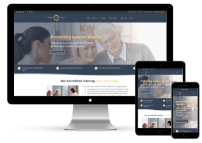 Protecting Seniors Wealth Website Project