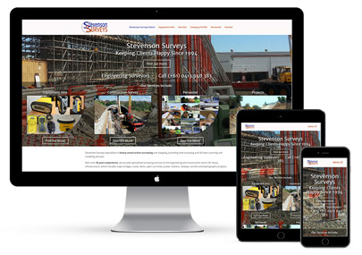 Stevenson Surveys Website Project
