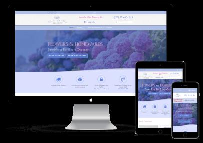 That Pretty Market eCommerce Web Design Mockup