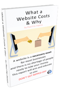 What a website costs and why ebook image